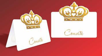 Convite Festa Coroa c/ 10