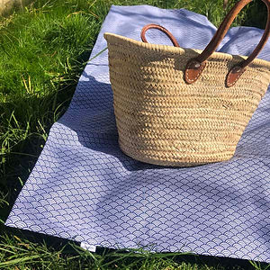 Petiotes_picnic_blanket_blue_geometric_g