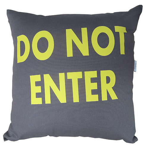 Personalised DO NOT ENTER Cushion