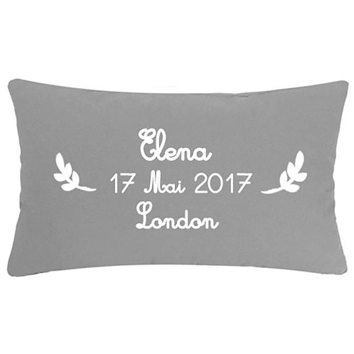 Personalised NEW BABY Cushion