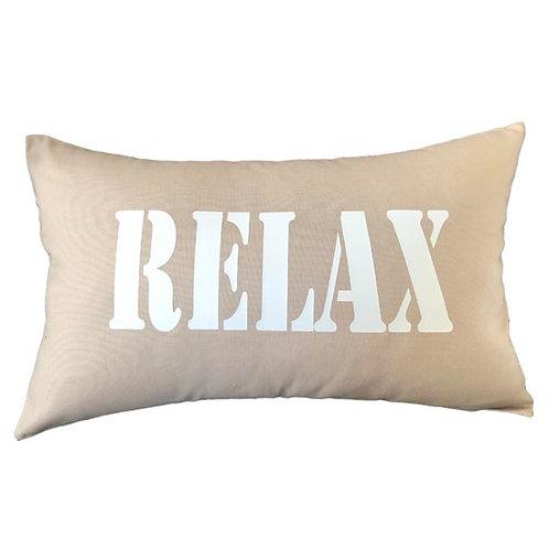 Beige RELAX Cushion