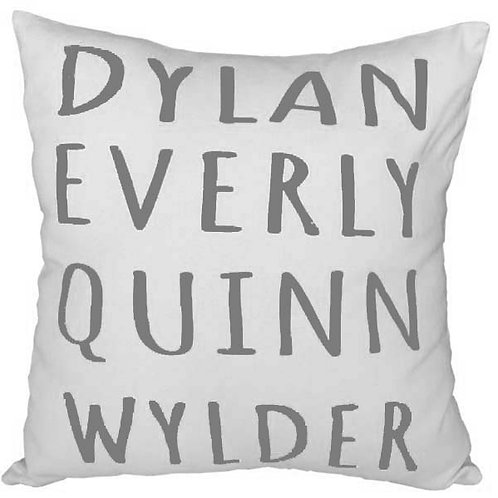 Square Personalised FAMILY Cushion