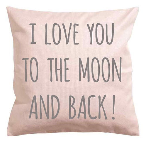 Square Personalised YOUR TEXT Cushion FUN WRITING