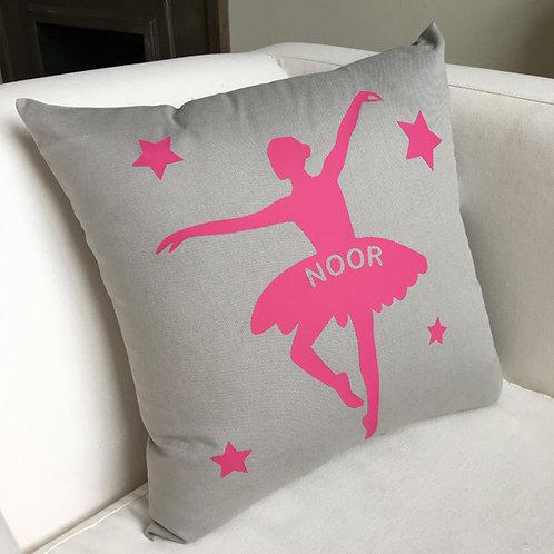 Personalised BALLERINA Cushion