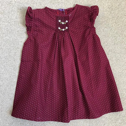 Cotton smocked Blouse 4-8-10Y
