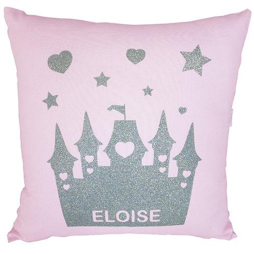 Personalised CASTLE Cushion