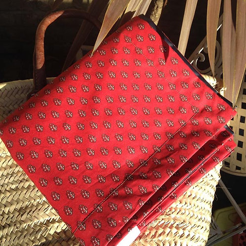 Picnic Blanket RED PROVENCE PRINT