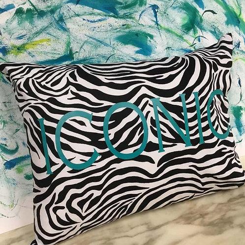 Personalised Zebra Cushion