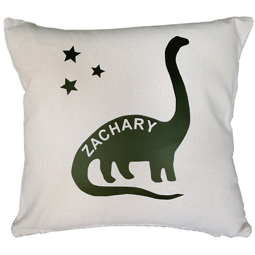 Personalised DIPLODOCUS Cushion