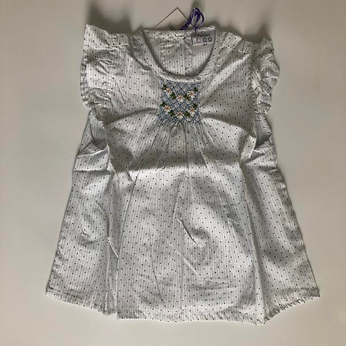 Daisy Cotton smocked Blouse 2Y