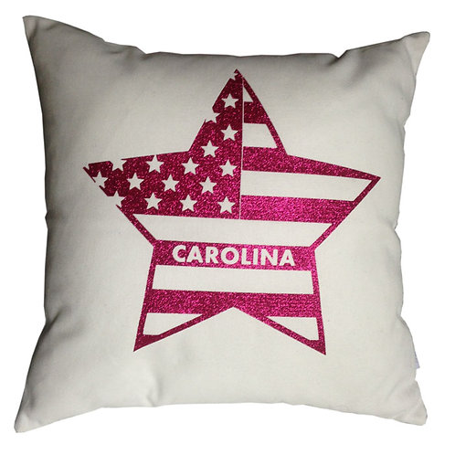 Personalised USA FLAG Cushion