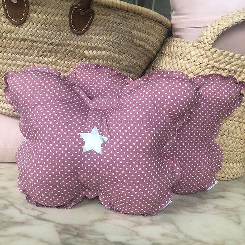 Dotty Butterfly Cushion