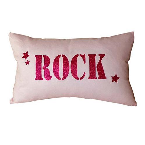 Light Pink ROCK Cushion