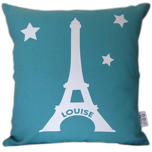Personalised EIFFEL TOWER Cushion