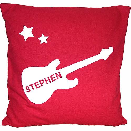 Personalised GUITAR Cushion