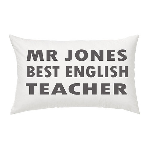 Personalised BEST TEACHER Cushion