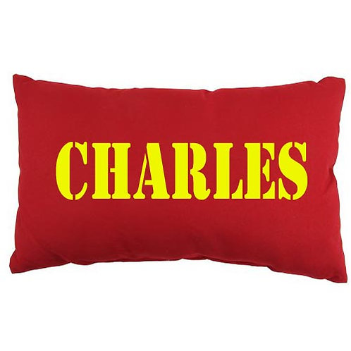 Personalised MILITARY NAME Cushion
