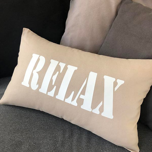 Beige RELAX Cushion