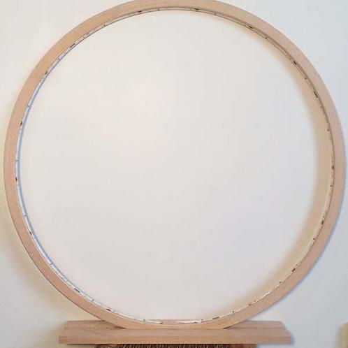 Natural raw wood LED Lamp 60 cm