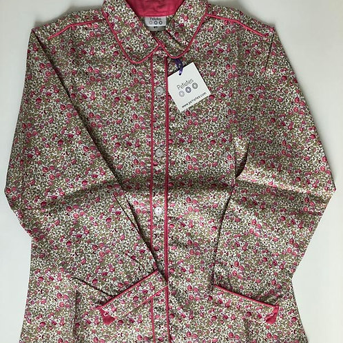 Collared Cotton Shirt 8-12Y