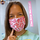 Thumbnail: Adult / Kids FABRIC MASKS Pink Leopard