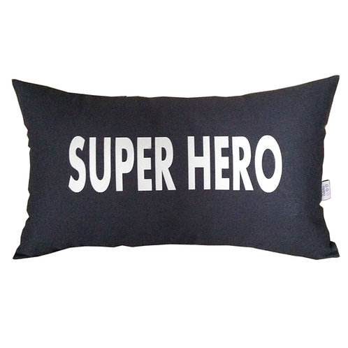 Personalised YOUR TEXT Cushion STRAIGHT WRITING