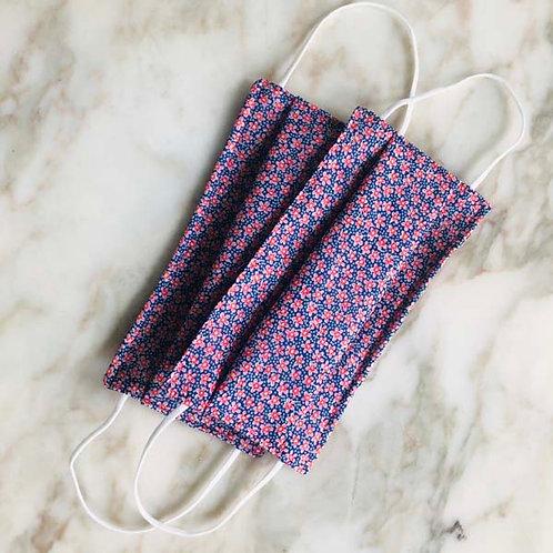 Adult FABRIC MASKS Silk / Cotton Liberty Print