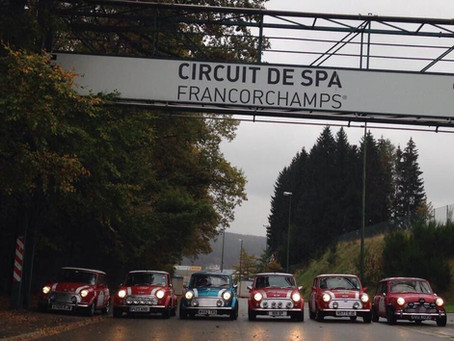 Day one …. Waking in Spa, Belgium