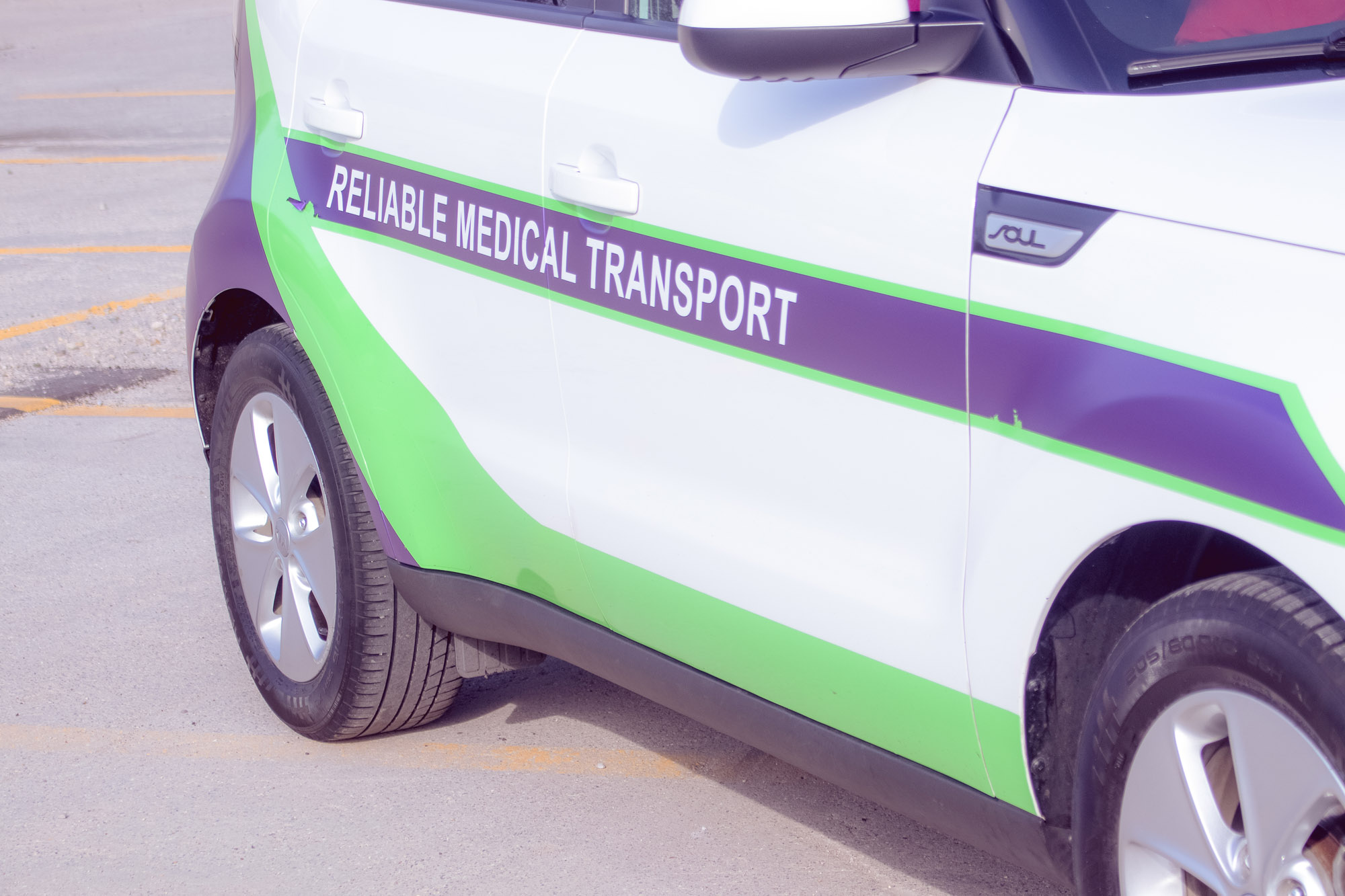 Reliable Medical Transport Van