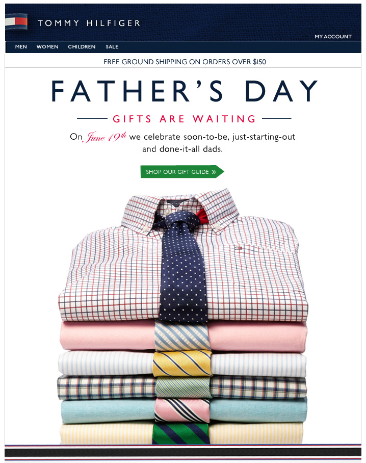 Fathers Day Email