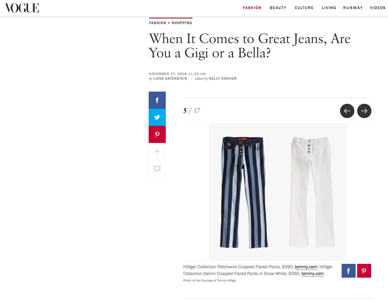 Vogue.com jeans