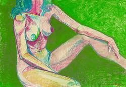 Натана на зелёном