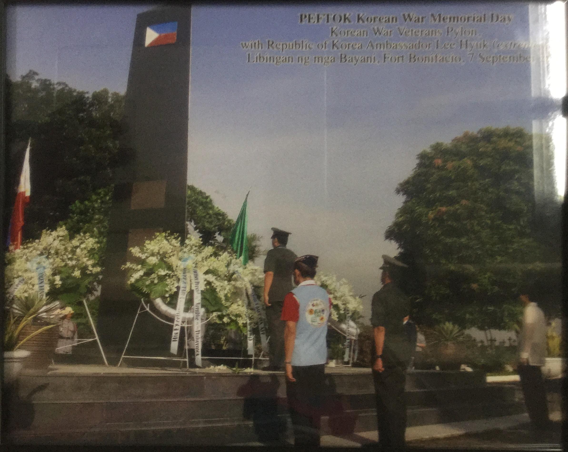 Peftok Korean War Memorial Day