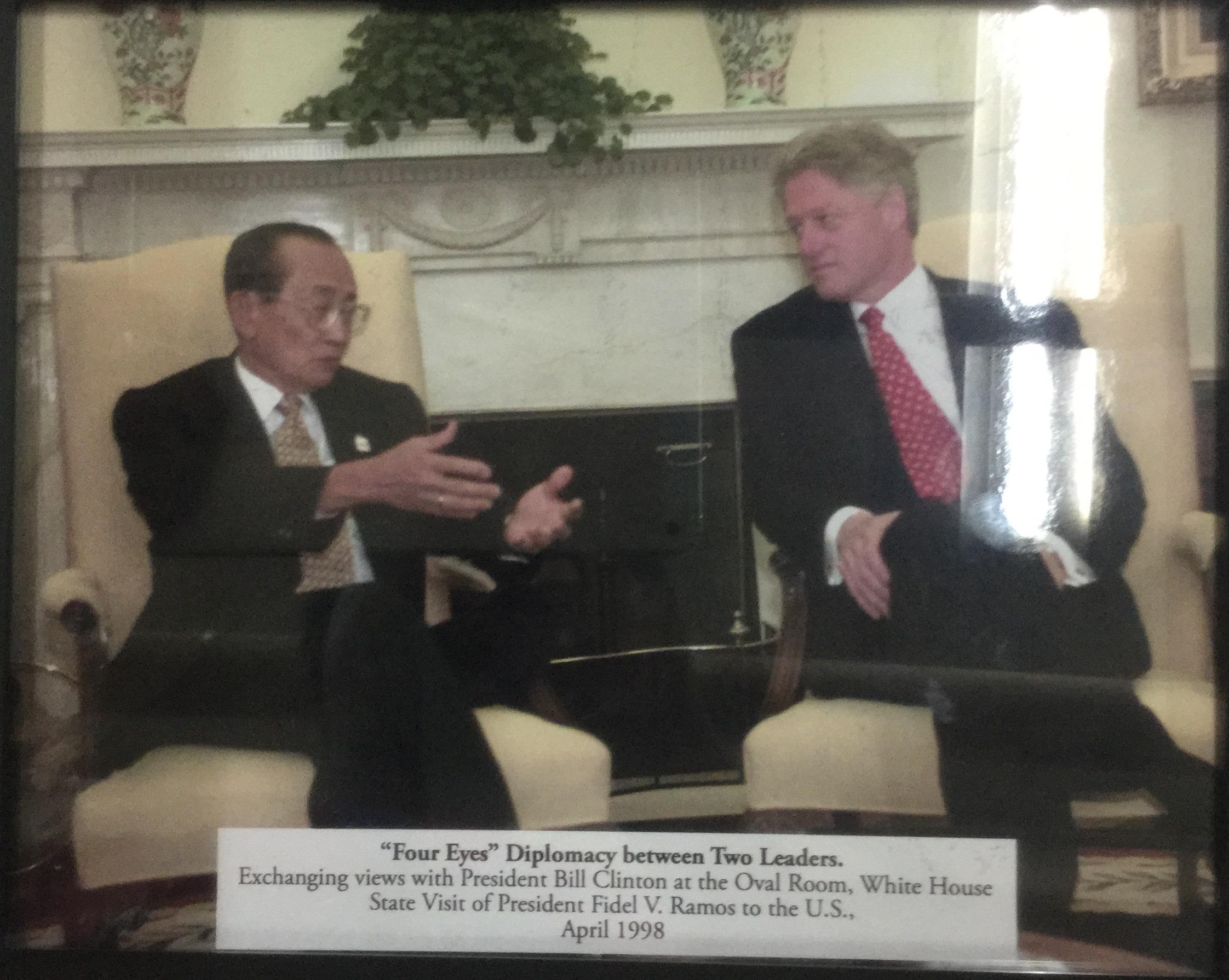 Four Eyes Diplomacy between Two Leaders