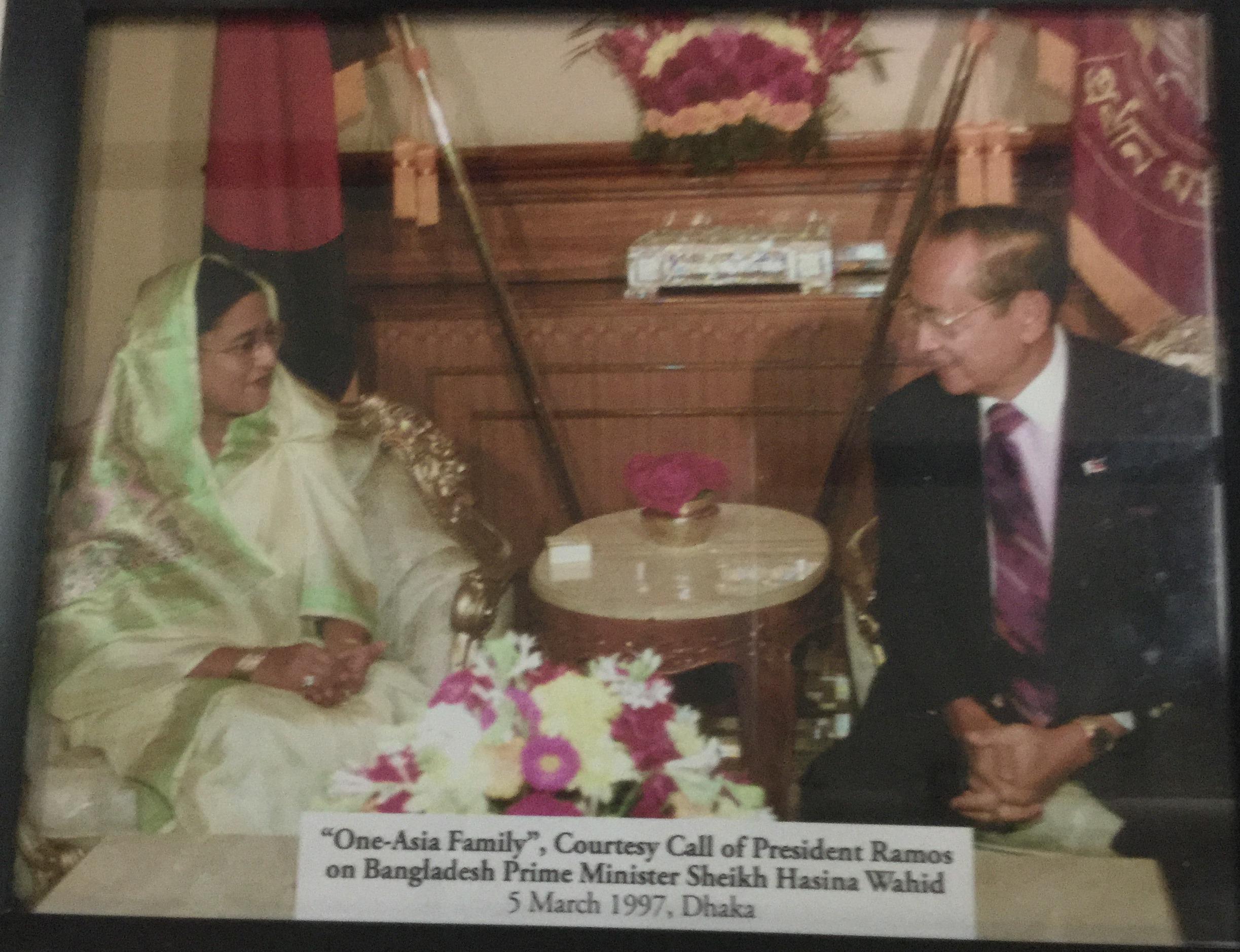 Courtesy Call on Bangladesh PM