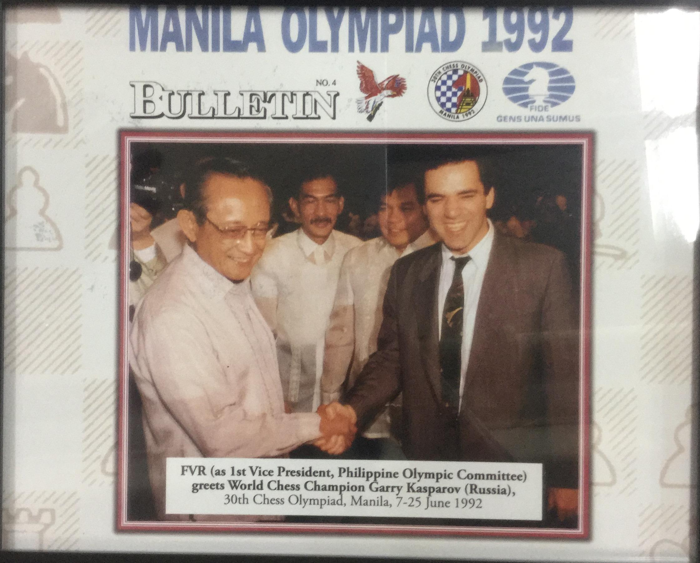Manila Olympiad 1992