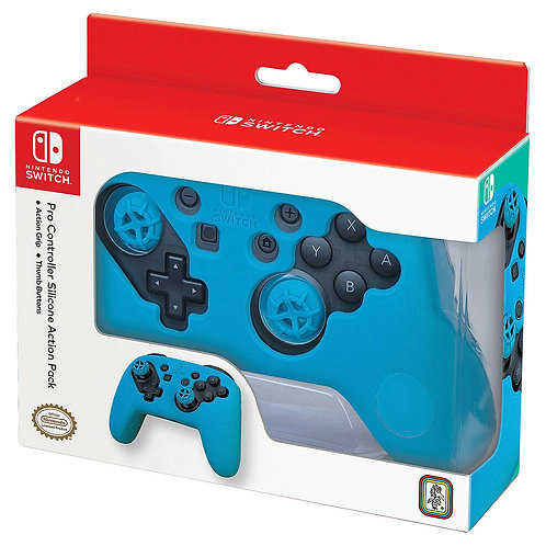 Nintendo Switch Pro Controller Silicone Action Pack