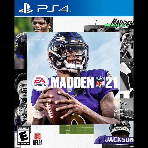 Madden NFL 21 For PlayStation 4