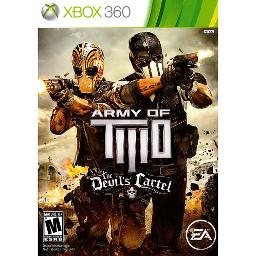 Army of Two: The Devil's Cartel - For Xbox 360