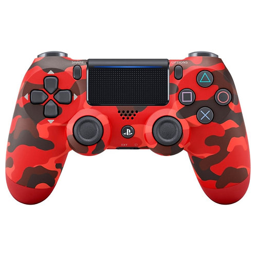 Sony PS4 Dual Shock Wireless Controller Red Camo