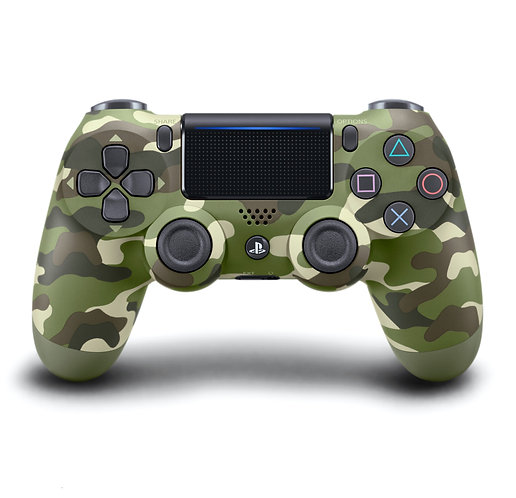 Sony PS4 Dual Shock Wireless Controller Army Green Camo