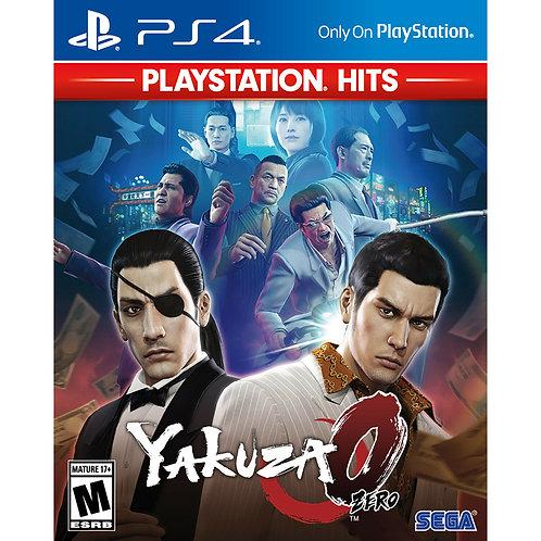 Yakuza 0 - PlayStation Hits Red Case - For Playstation 4