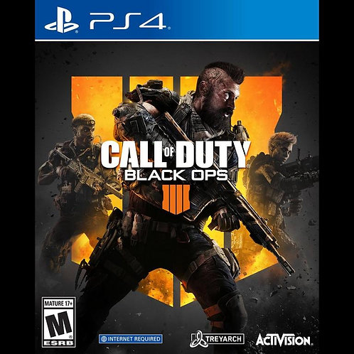 Call of Duty: Black Ops 4 For PS4