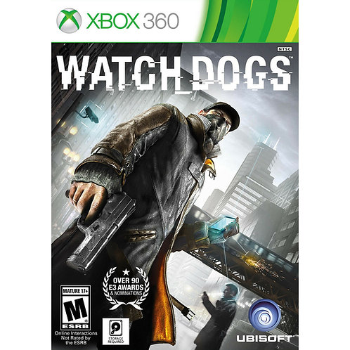 Watch Dogs  For - Xbox 360
