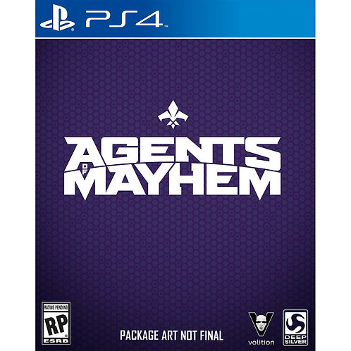 Agents of Mayhem - Day One Edition - For PS4