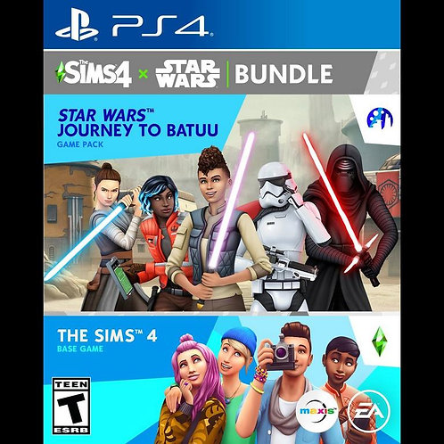 The Sims 4 Plus Star Wars: Journey to Batuu Bundle - For PS4