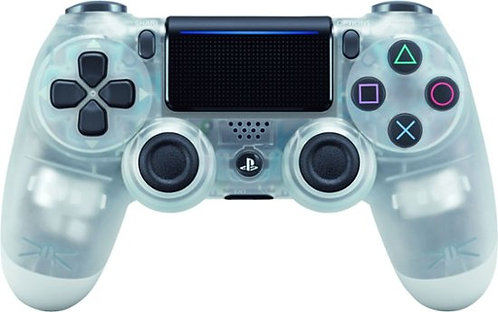 Sony PS4 Dual Shock Wireless Controller Crystal Clear Color