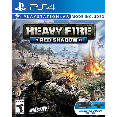 Heavy Fire: Red Shadow - For PS4