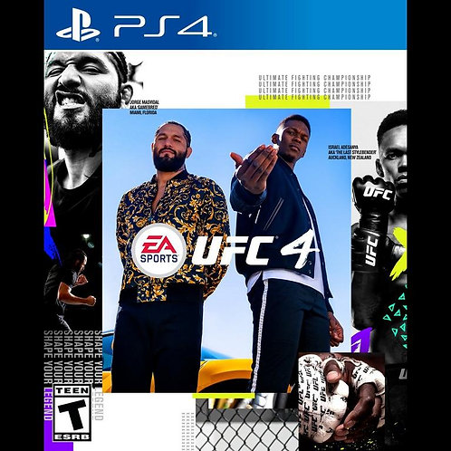 EA Sports UFC 4 - For PlayStation 4