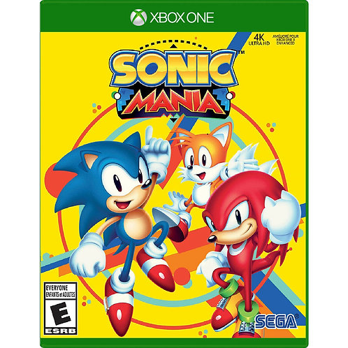 Sonic Mania For -Xbox One